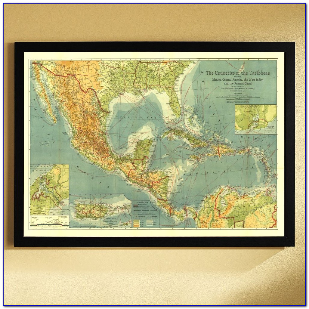 National Geographic Personalized World Map
