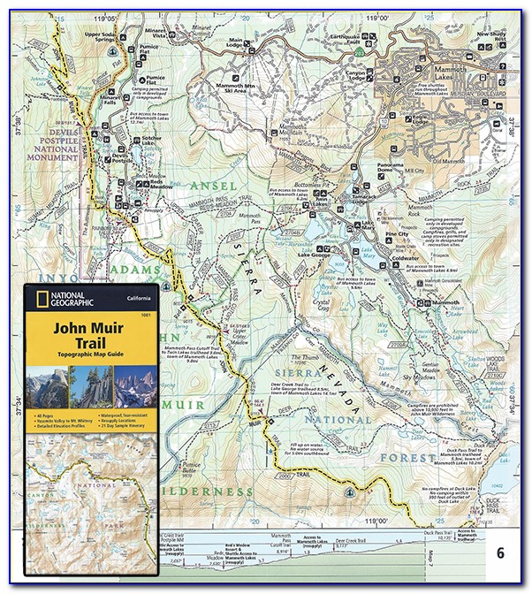 National Geographic Topo Maps California