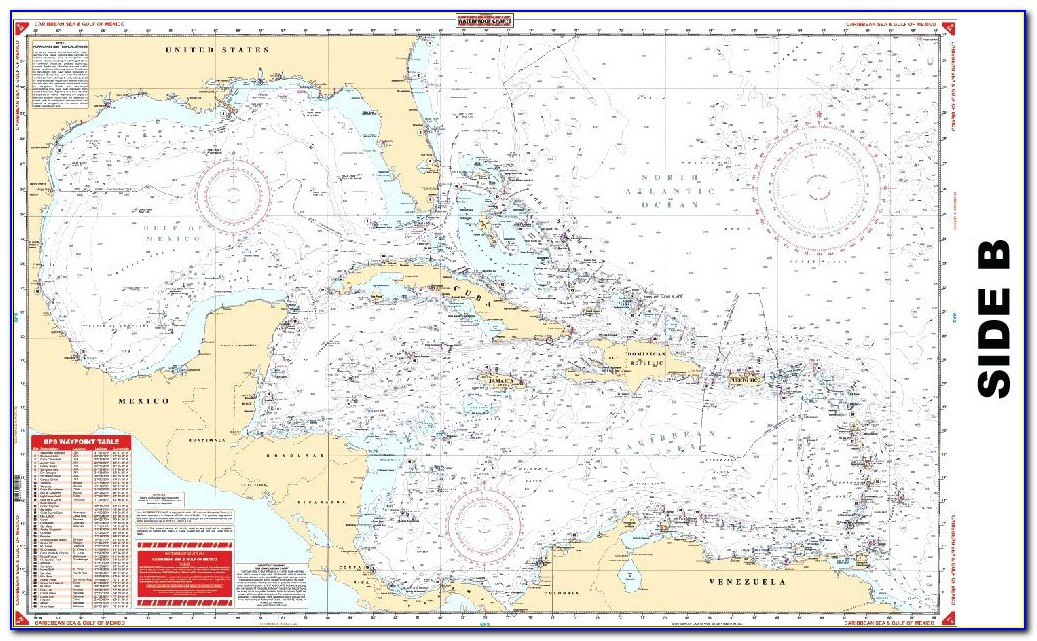 Nautical Chart Of Florida Keys