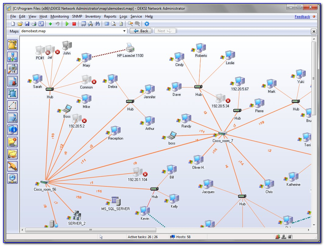 Network Map Tool Open Source