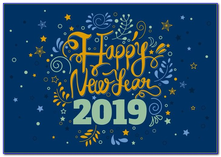 New Year Greeting Card Templates