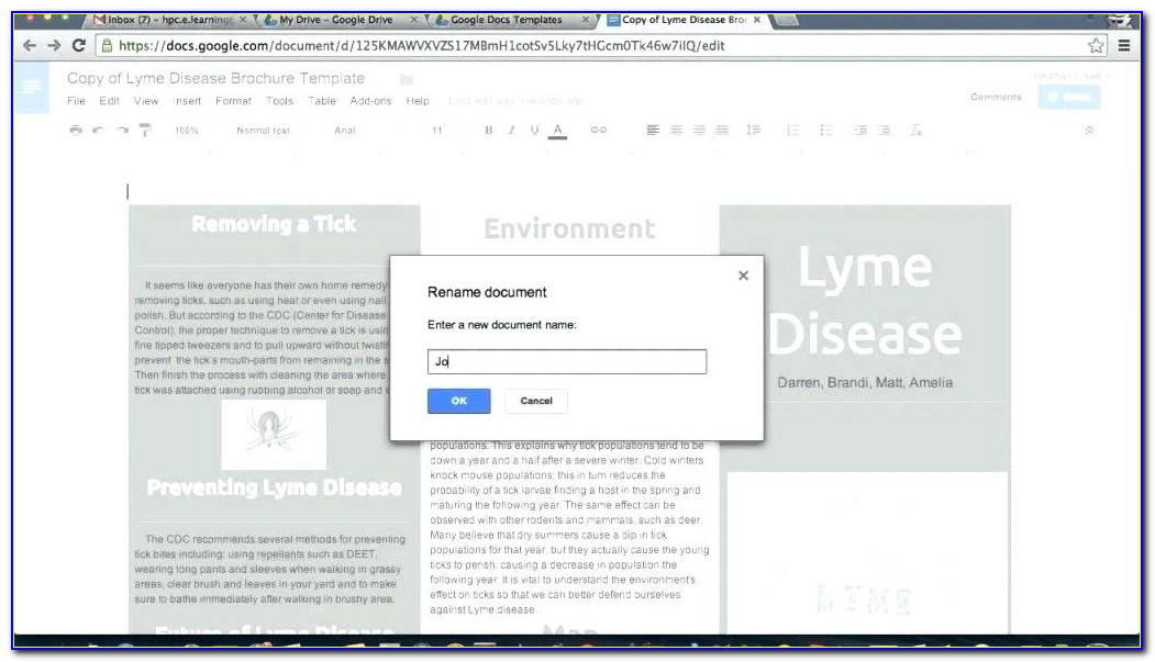 Newsletter Templates Google Docs Free
