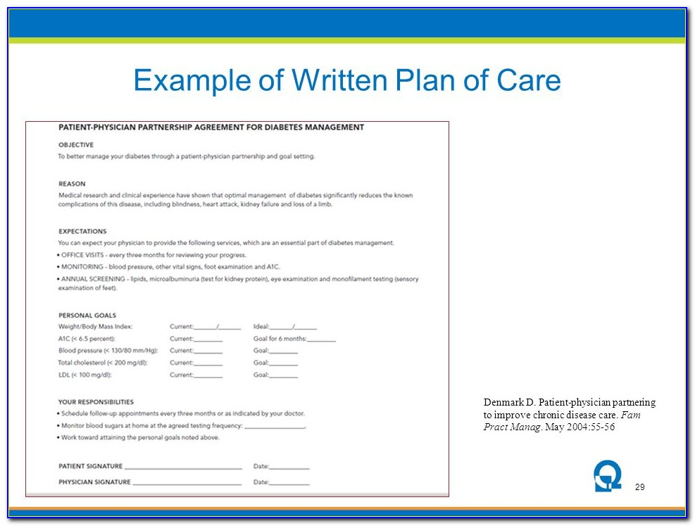 Nextgen Chronic Care Management Template