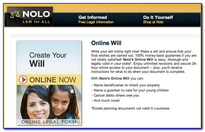 Nolo Legal Forms Free
