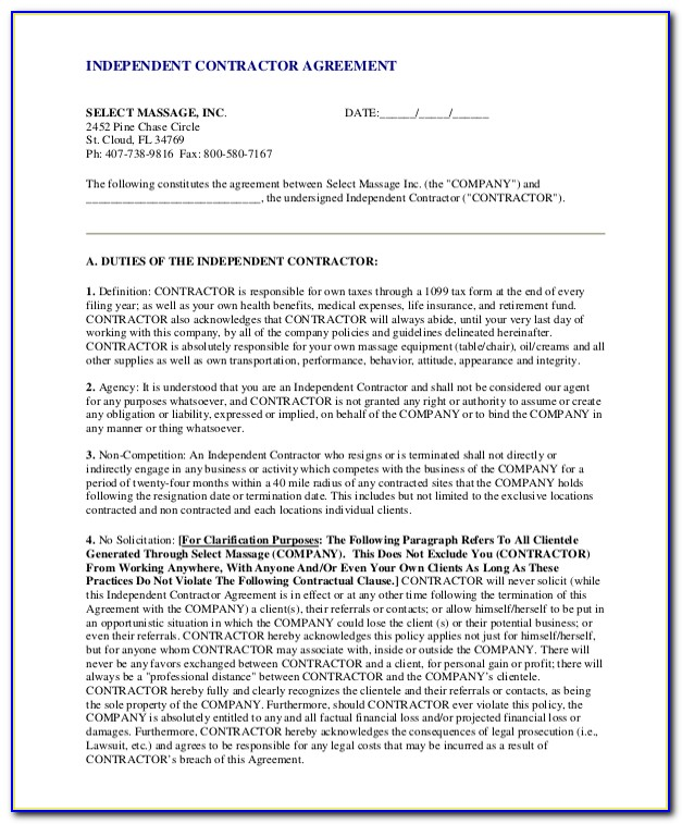Non Solicitation Agreement Texas Template