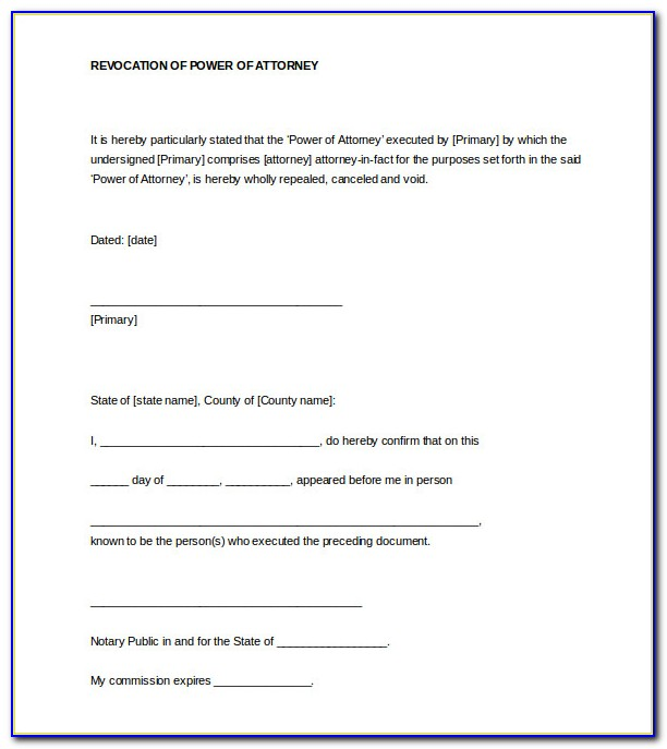 Notary Certificate Form Nc