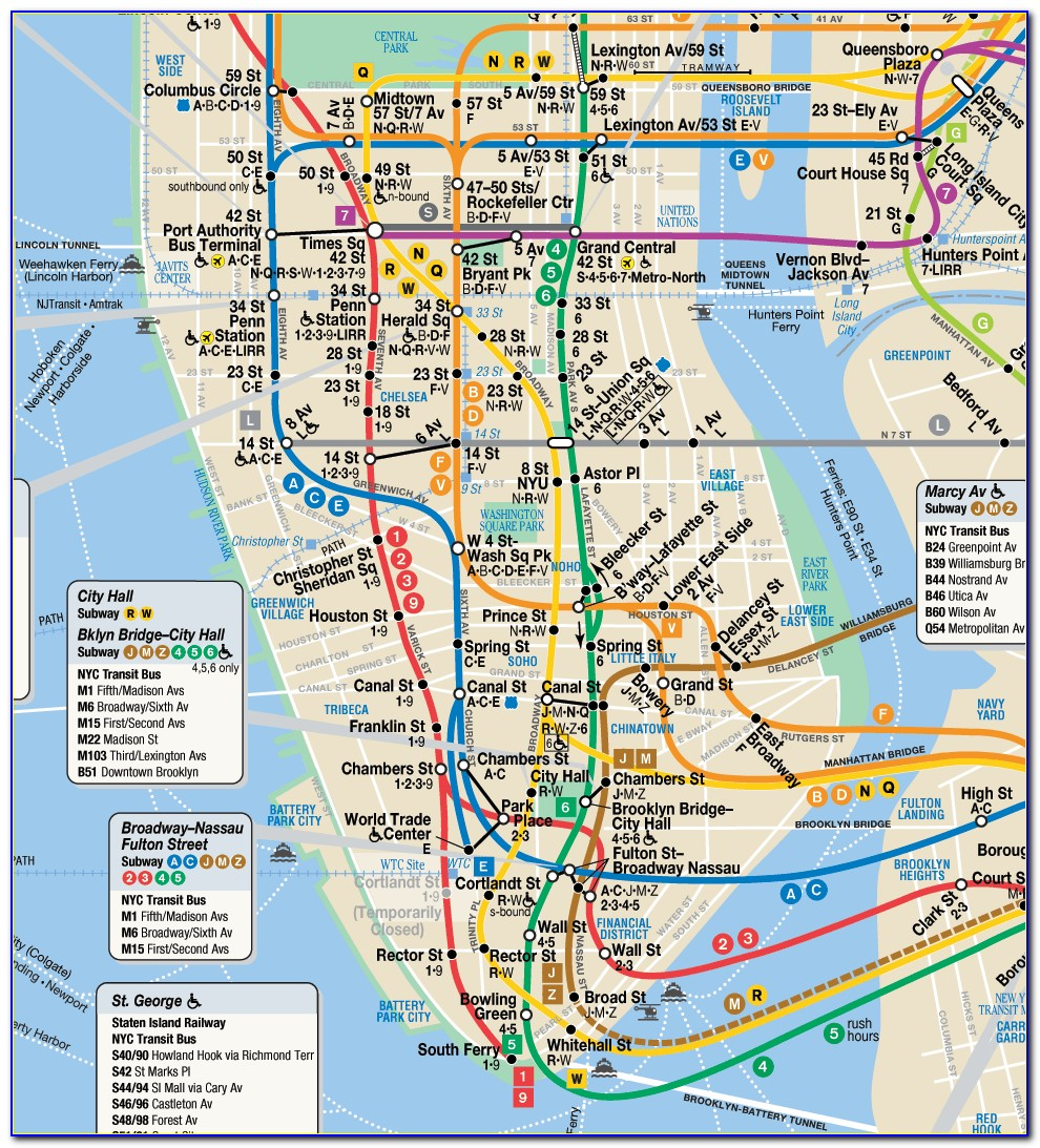Nyc Metro E Train Map
