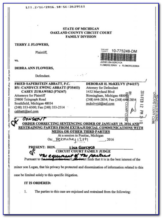 Oakland County Michigan Divorce Forms