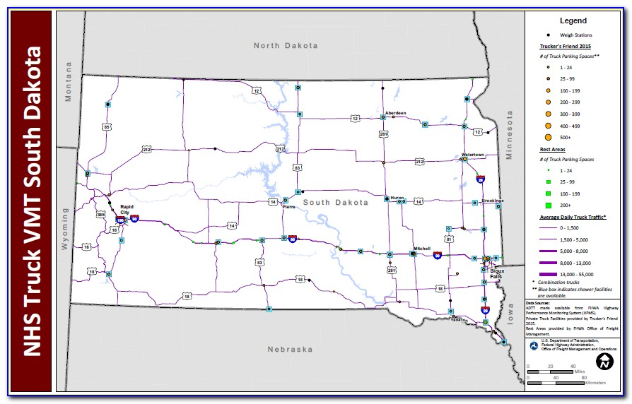 Oklahoma Dot Weigh Stations Map