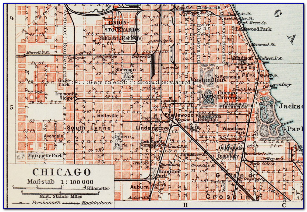 Old Chicago Street Maps