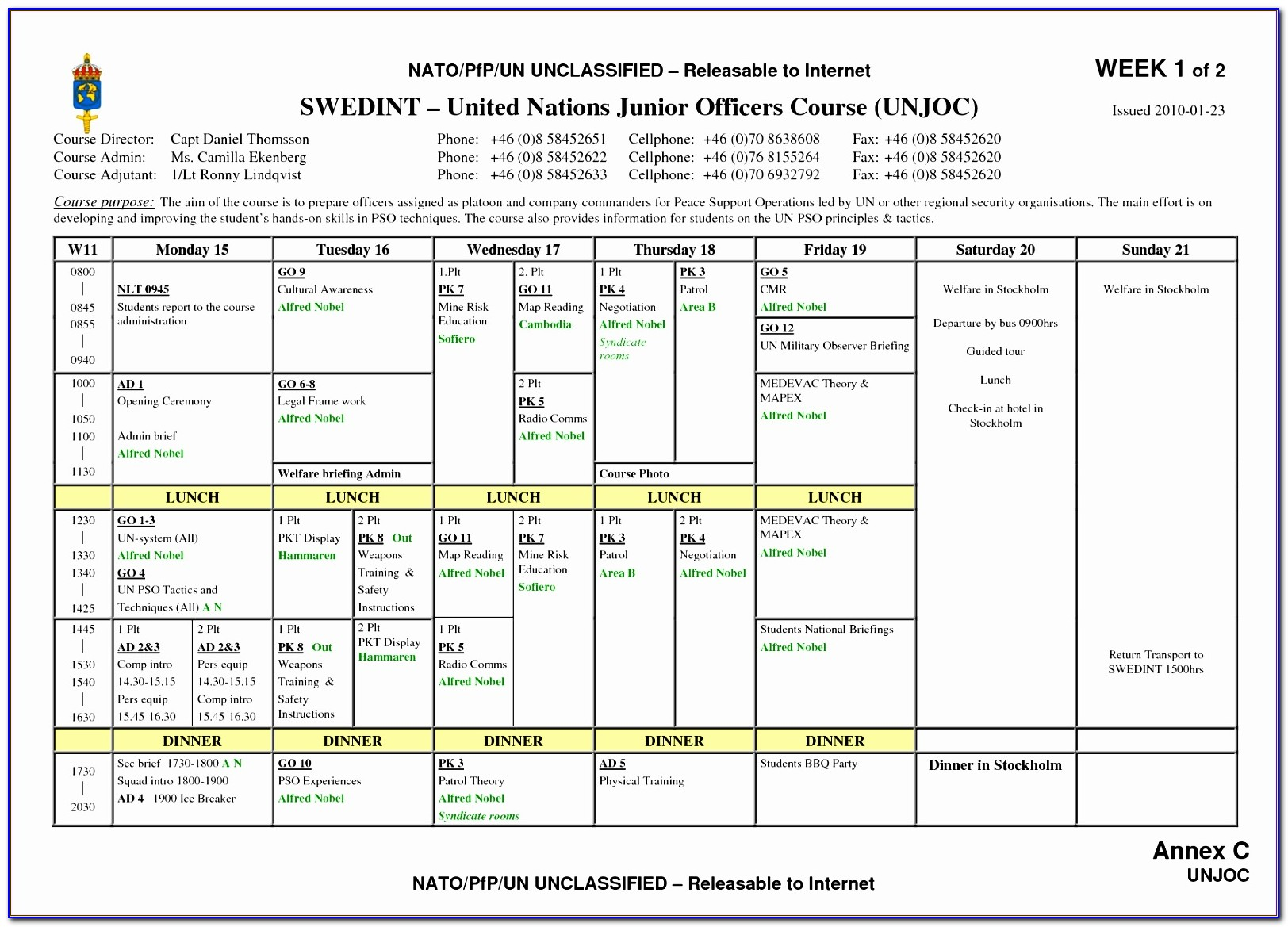 On Call Schedule Template Excel Fedzz New Weekly Schedule Template Pdf Sample Weekend Schedule 6 Documents