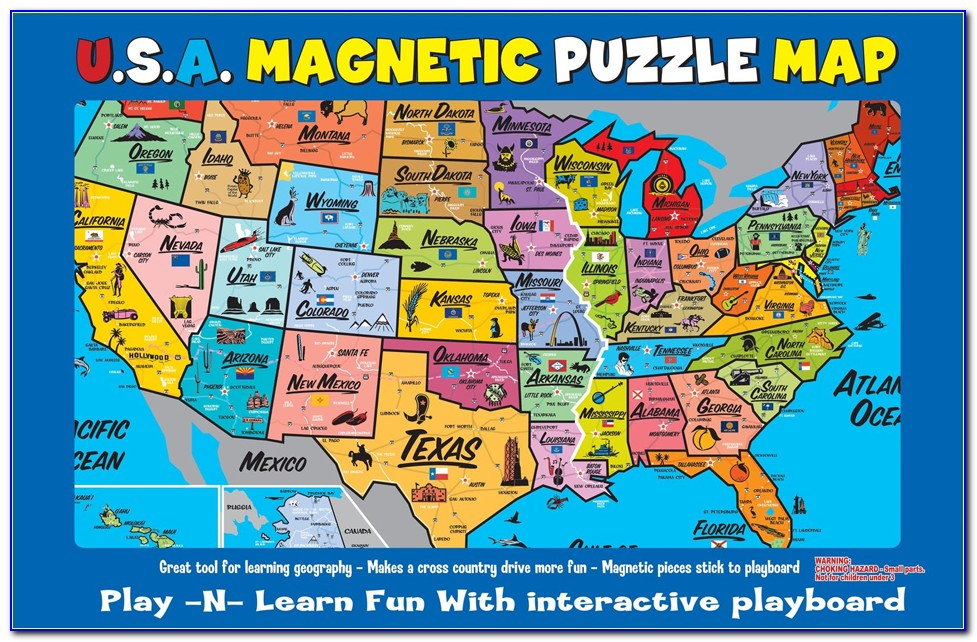 Online Map Puzzles Of Usa