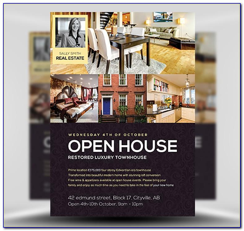 Open House Flyer Template Free Microsoft Word