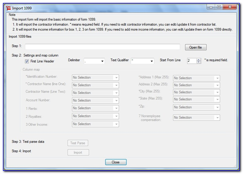 Order W2 And 1099 Forms