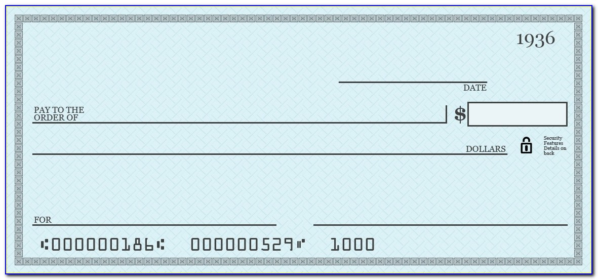Free Blank Check Template Pdf Blank Cheque Template Download Free Within Giant Check Template Editable Download