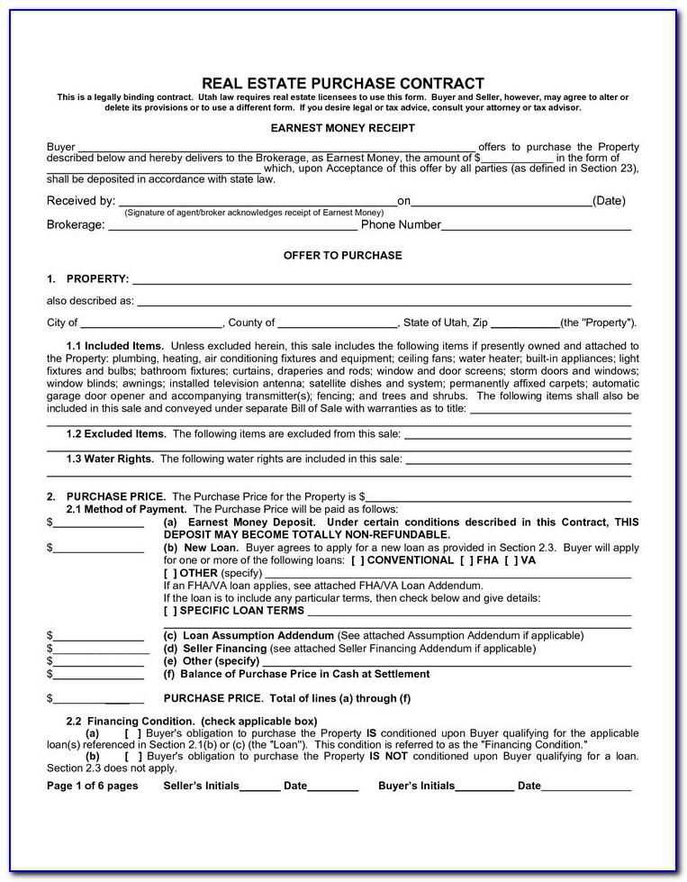 Owner Financing Agreement Template