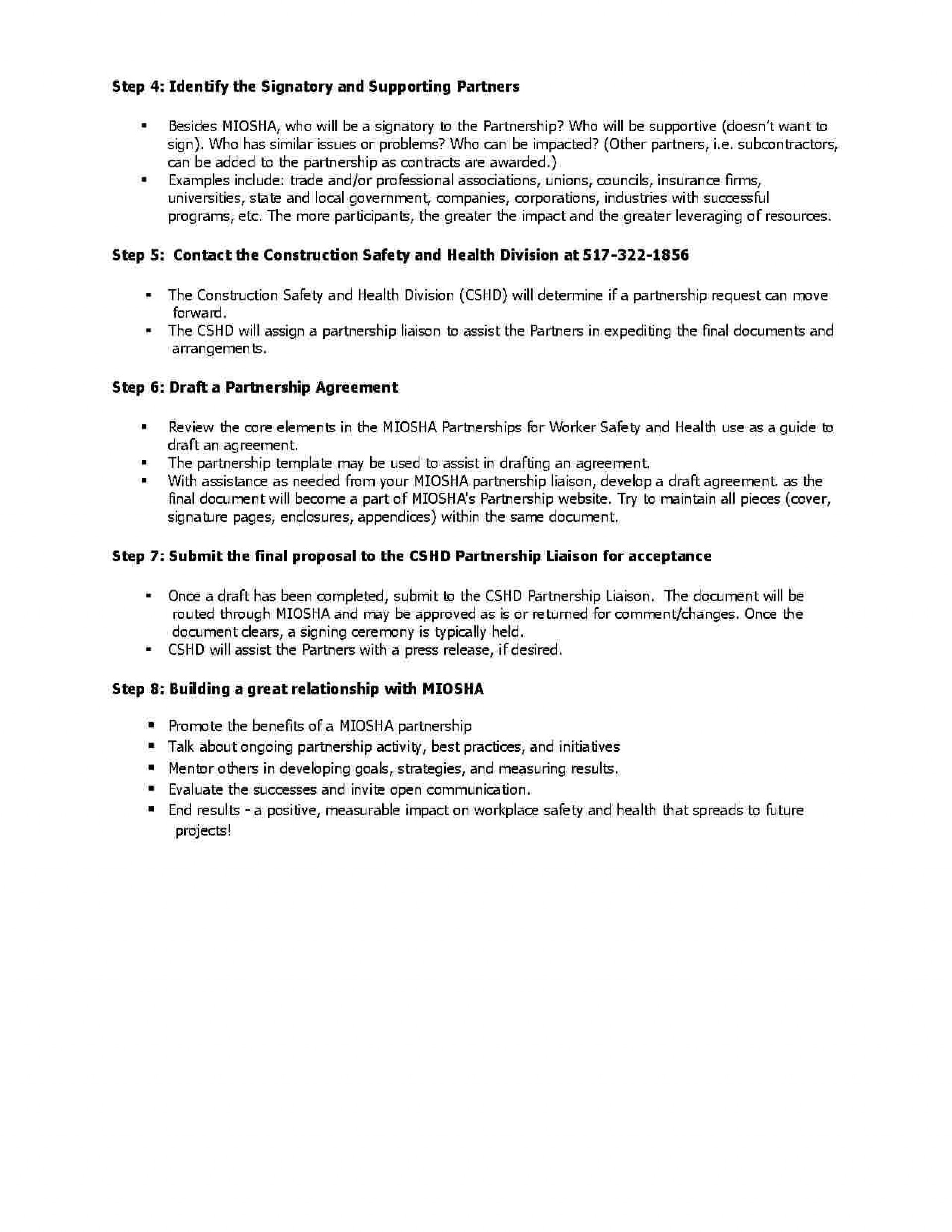 Partnership Agreement Format Pdf