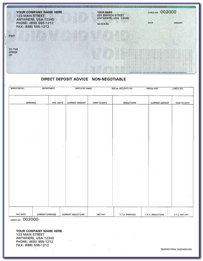 Paycheck Stubs Templates