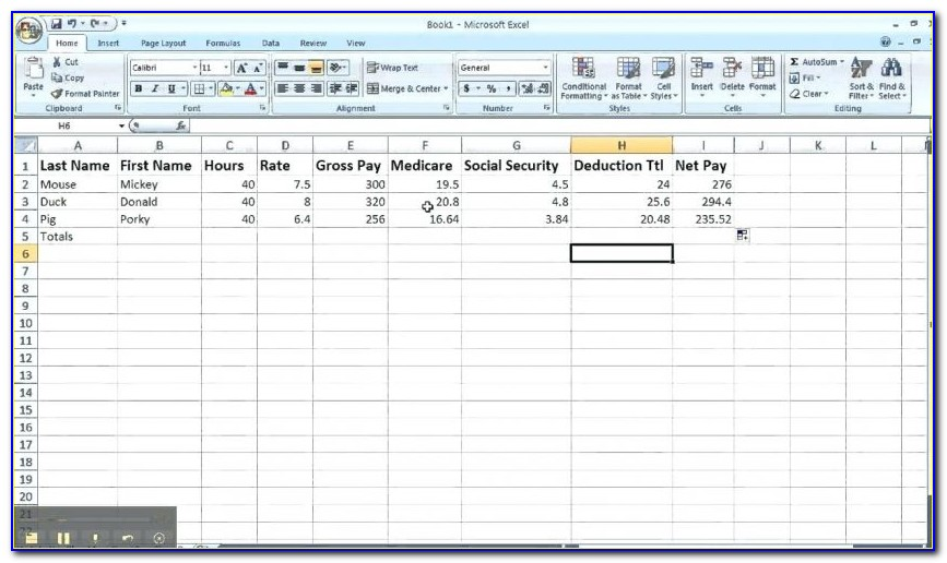 Payroll Spreadsheet Template Canada Vincegray2014