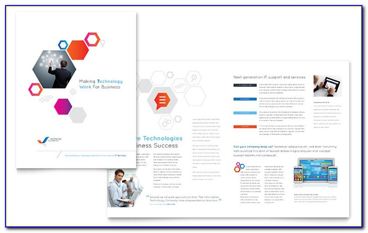 Pdf Brochure Design Templates Free Download