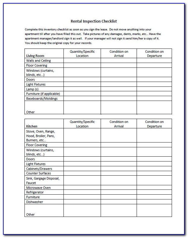 Periodic Inspection Report For Rental Property Template Uk