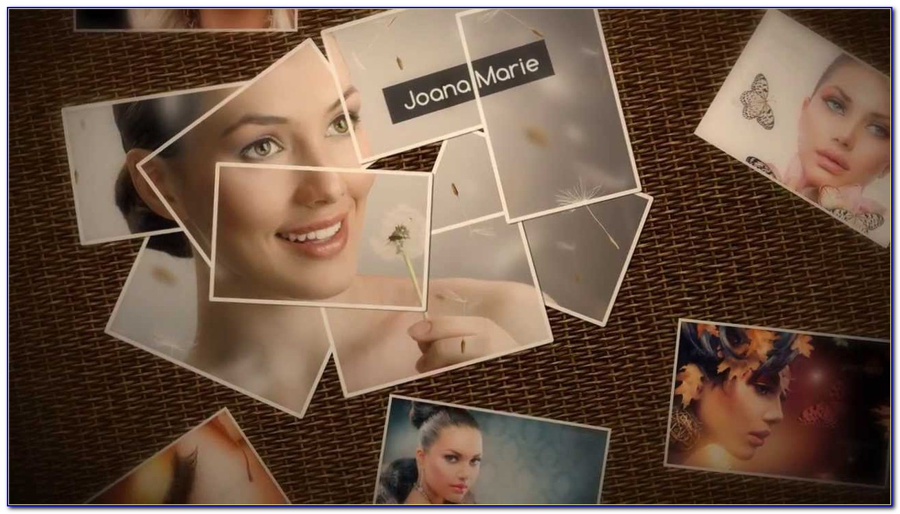 Photo Collage After Effects Template Free