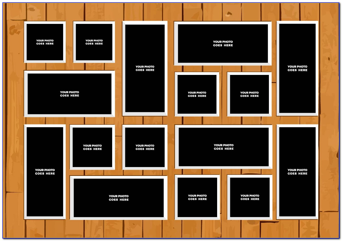 Photo Frame Collage Template Online