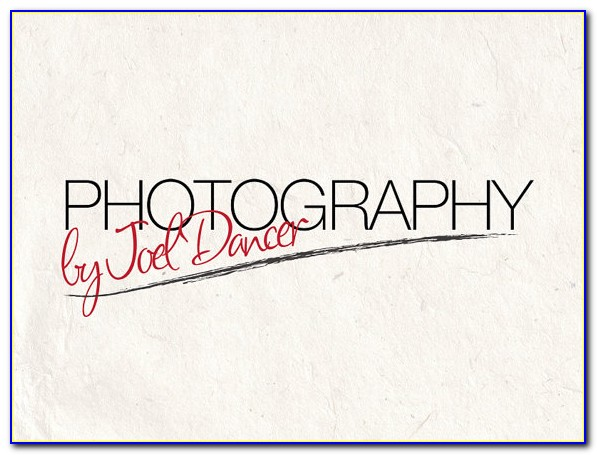 Photography Logo Templates Psd Free Download