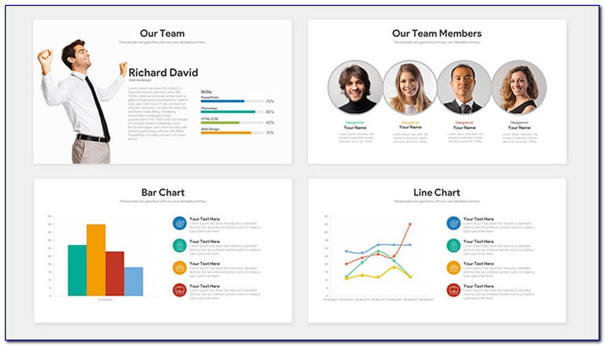 Pitch Deck Powerpoint Template Free Download