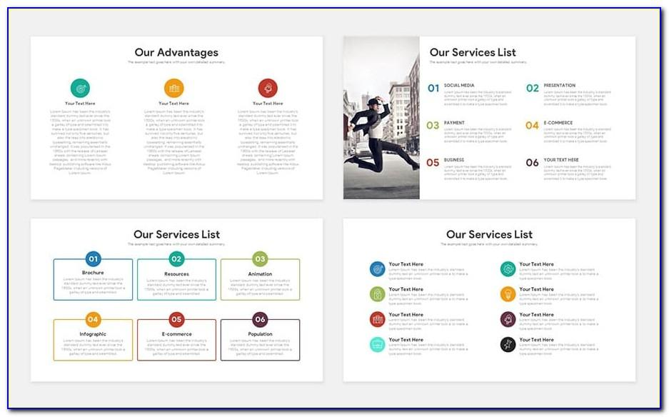 Pitch Deck Powerpoint Template Free