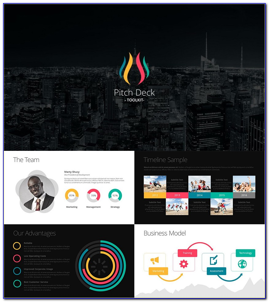 Pitch Deck Powerpoint Templates Free