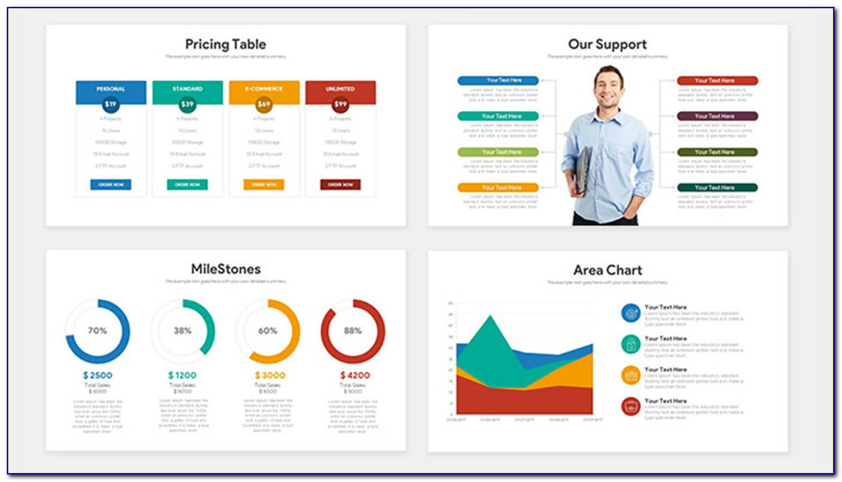 Pitch Deck Template Powerpoint Free Download