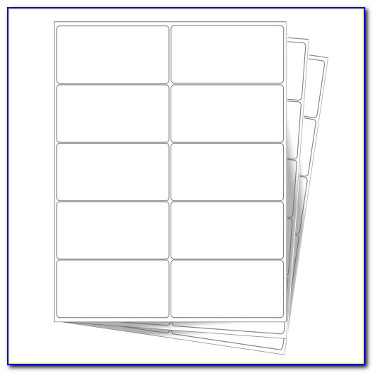 Polaroid Premium White Mailing Labels Template