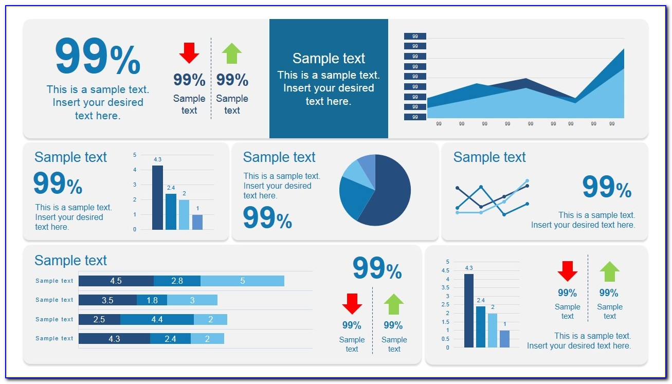 Powerpoint Dashboard Templates Free Download