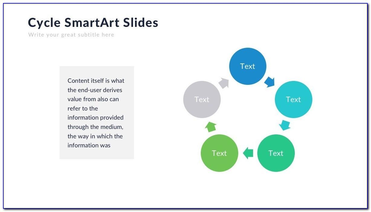 Powerpoint Smartart Templates List