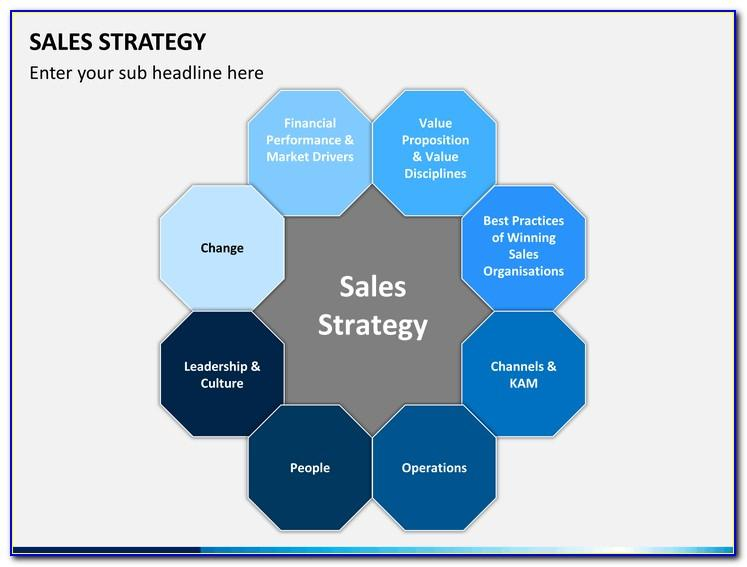Powerpoint Template Sales Presentations