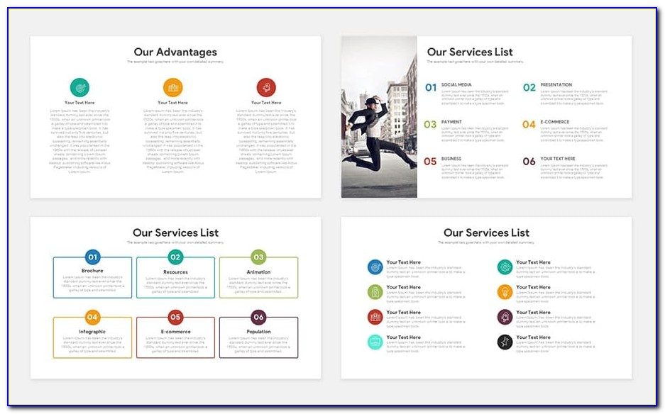 Powerpoint Template Startup Pitch