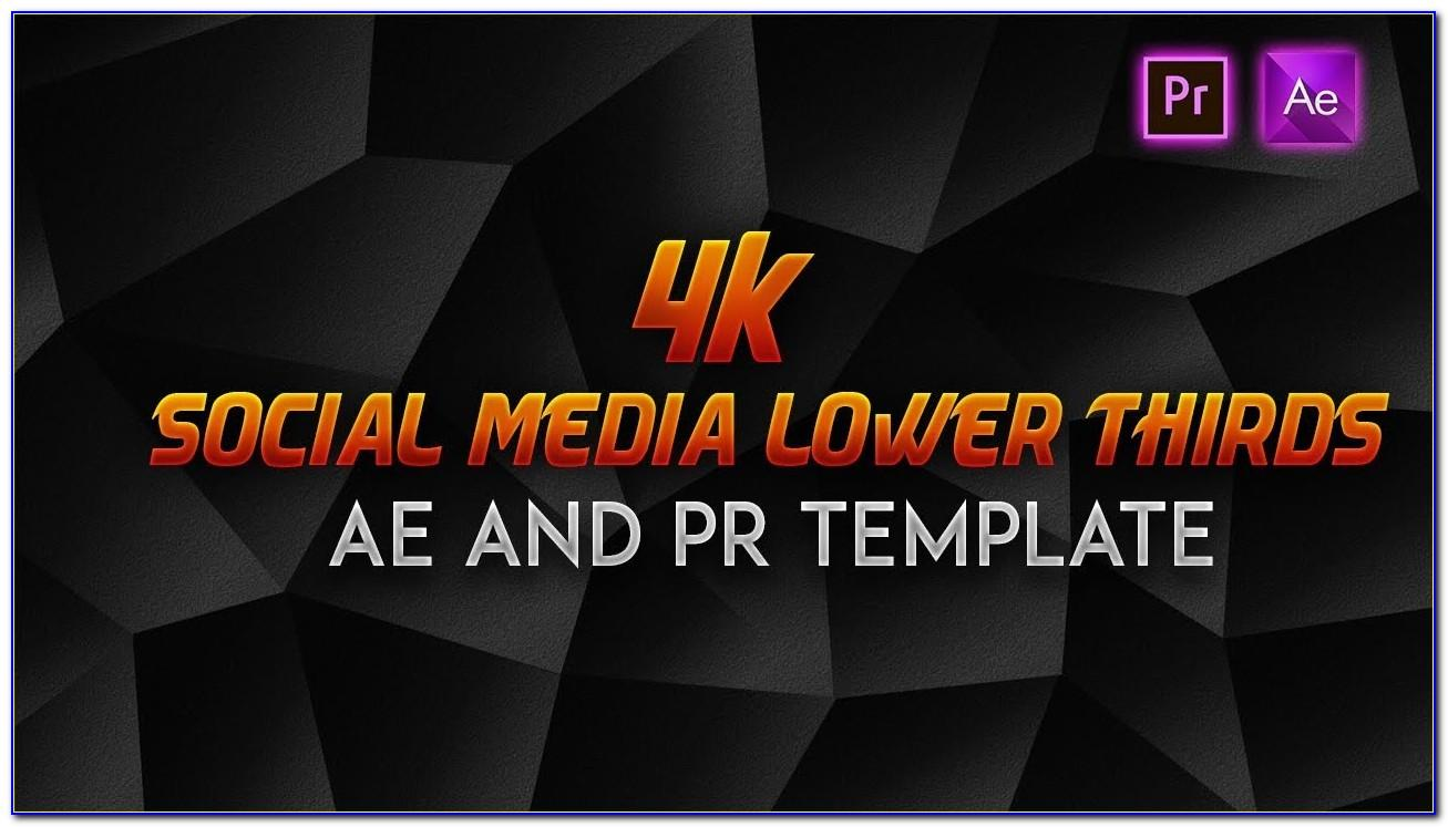 Premiere Pro Lower Third Template Free