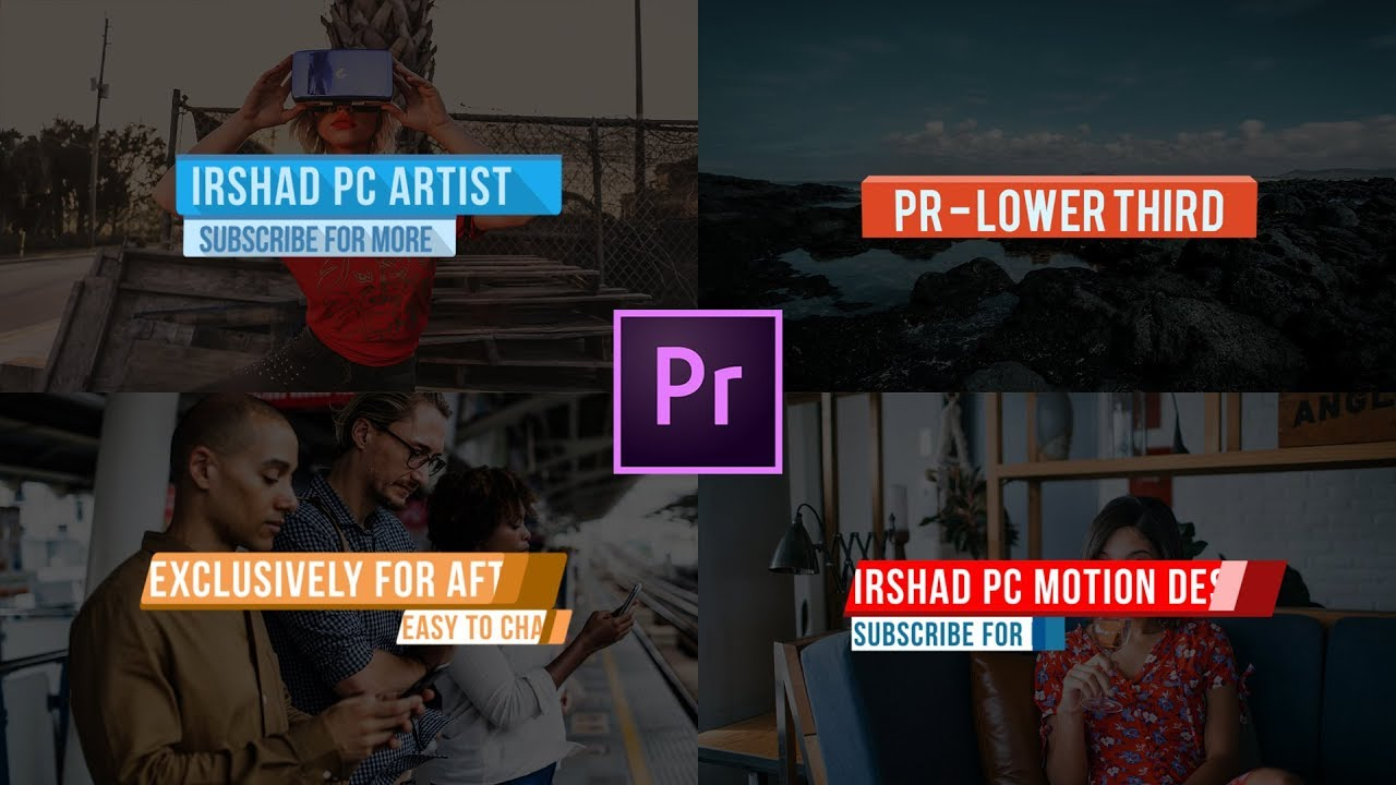 Premiere Pro Lower Thirds Template Free