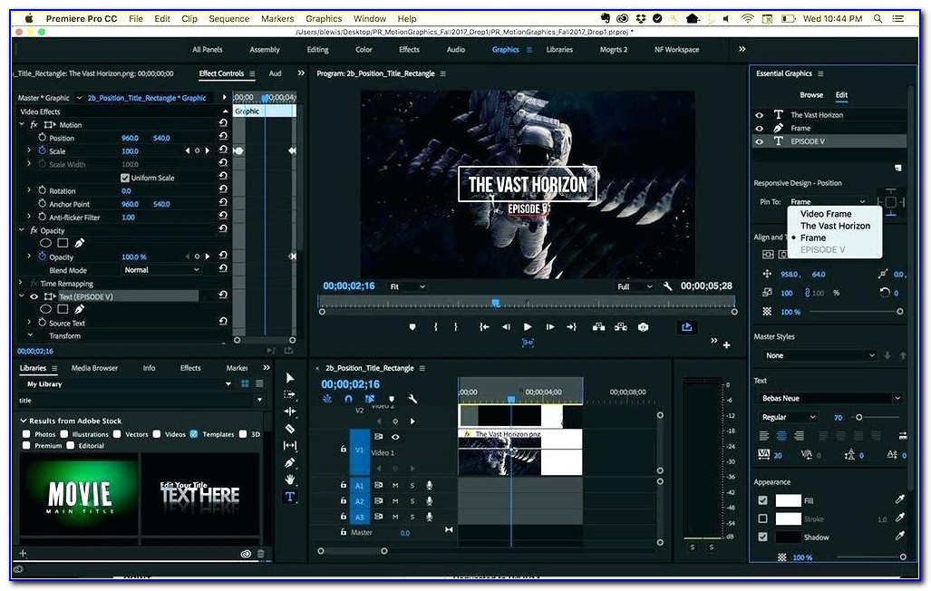 Premiere Pro Templates Nulled