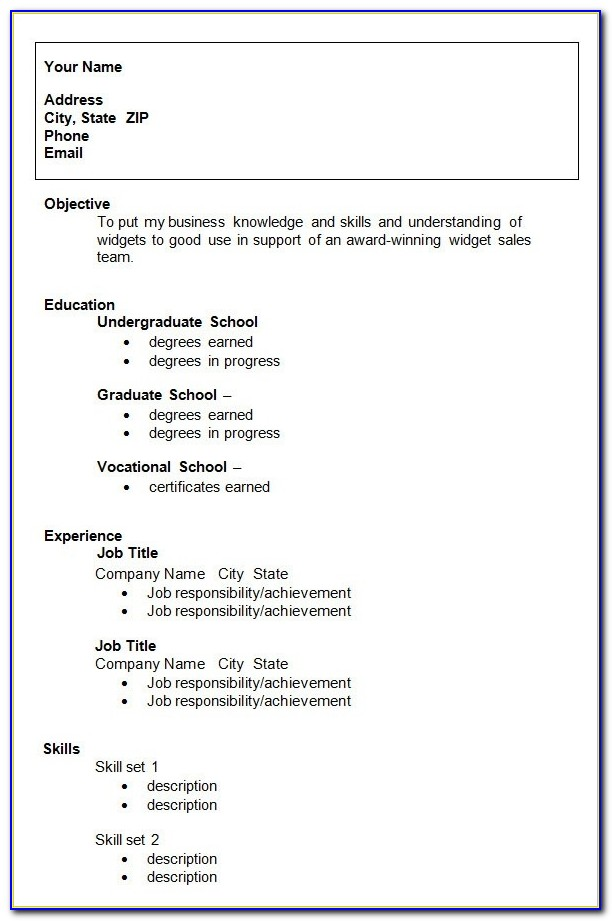 10+ College Resume Template, Sample, Examples   Free & Premium Templates With Resume Template Free Download For Fresh Graduate