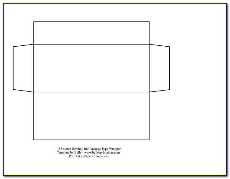 Printable Candy Bar Wrapper Template Word