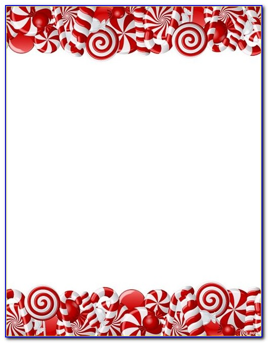 Printable Christmas Stationery Template