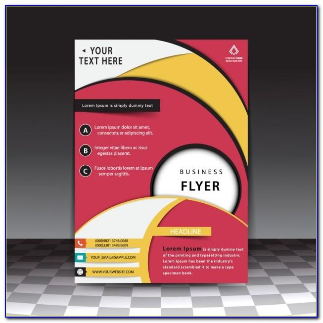 Professional Flyer Templates Psd