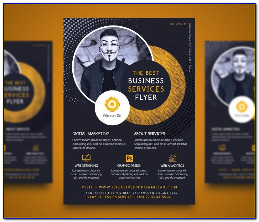 Professional Flyers Templates Free