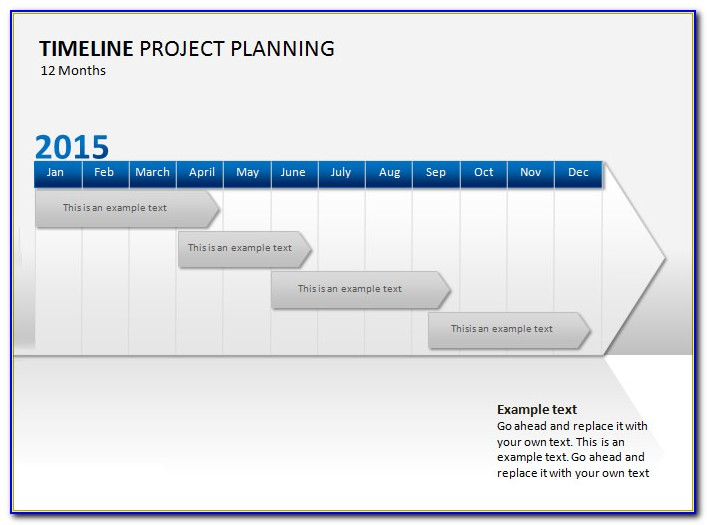Project Management Timeline Template Free
