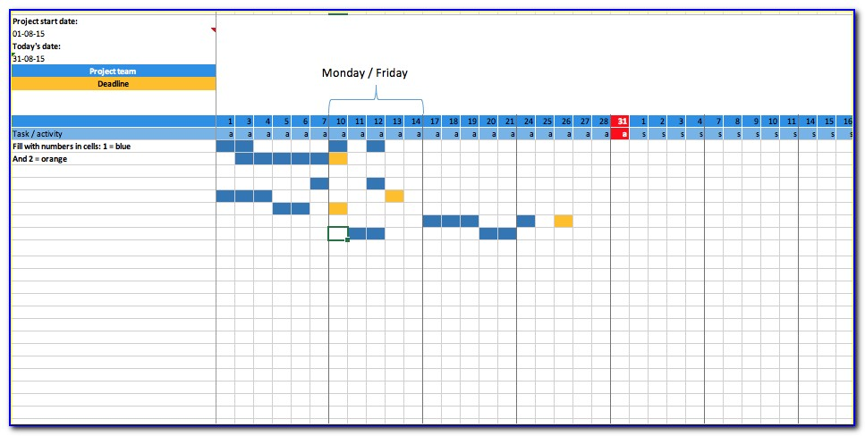 Project Planning Excel Templates Free