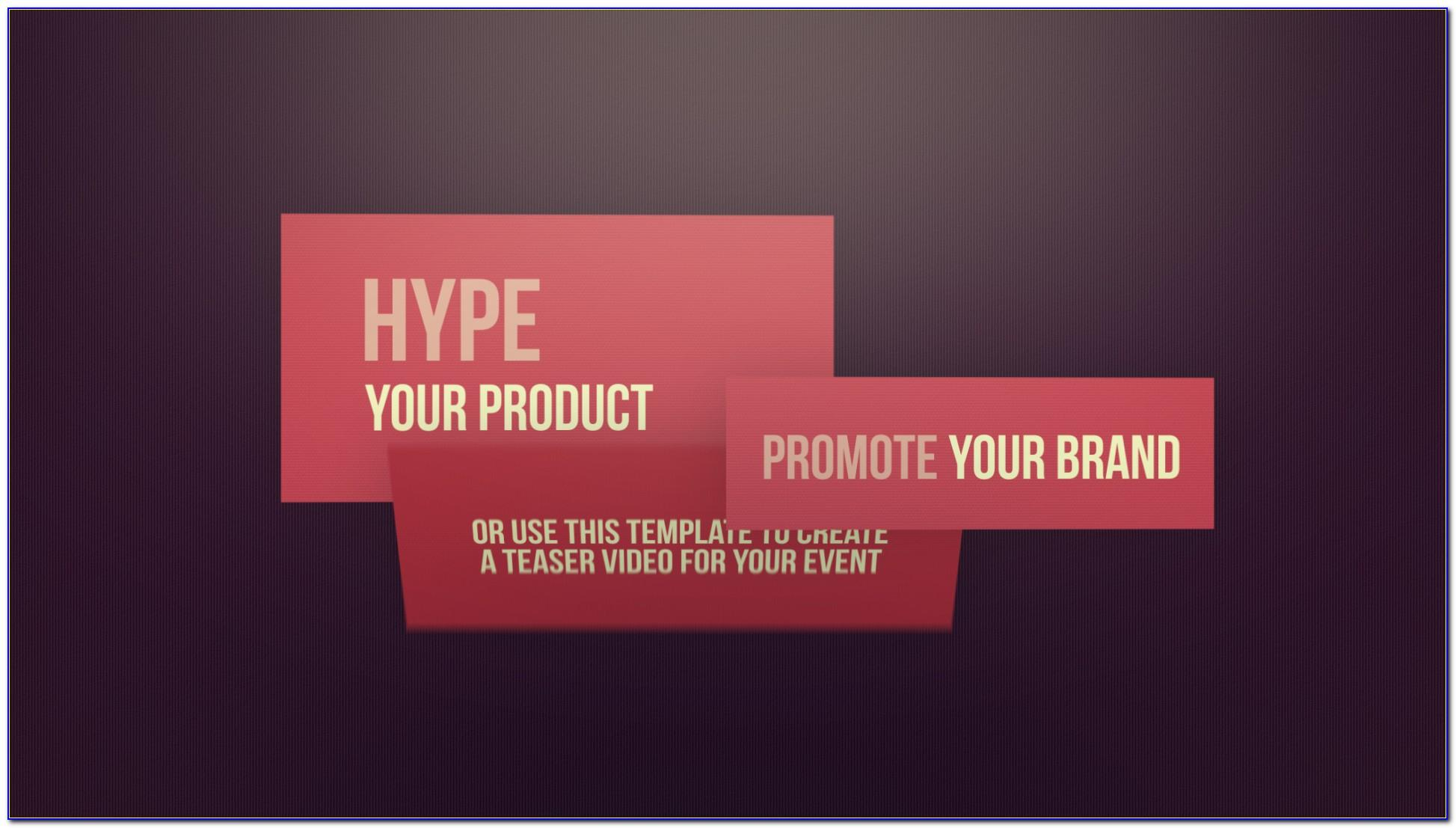 Promo Video Templates Free Download