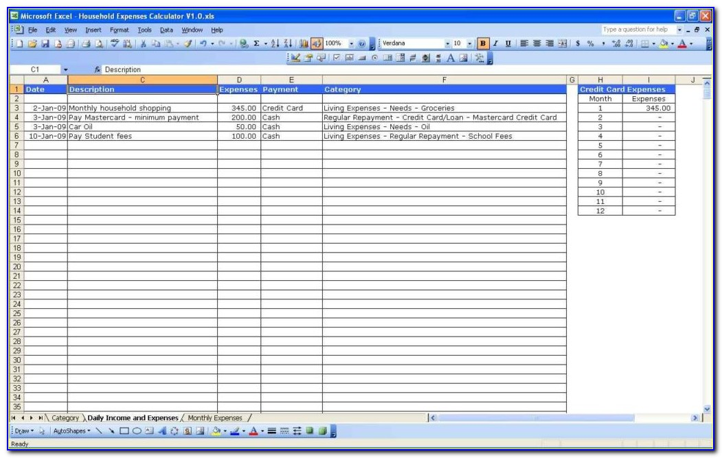 Property Rental Invoice Excel Template