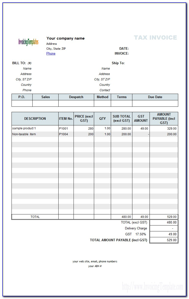 Quickbooks Custom Estimate Template